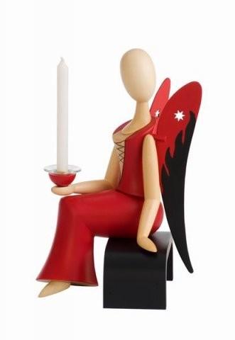 "Engel Sternkopf ""Sexy Lady"" sitzend"