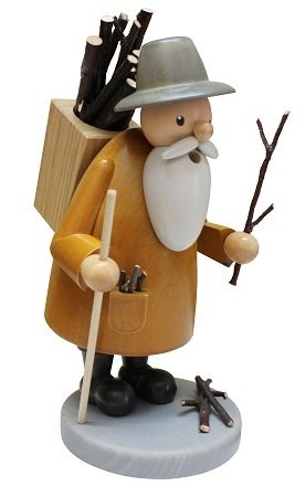 Räuchermann Holzsammler 24cm