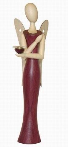 Engel Sternkopf aus Amaranth 24,5cm
